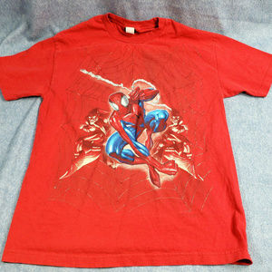 Marvel Spiderman Green Goblin Men's T Shirt Size L